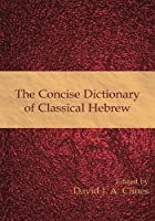 The Concise Dictionary of Classical Hebrew by David J. A. Clines