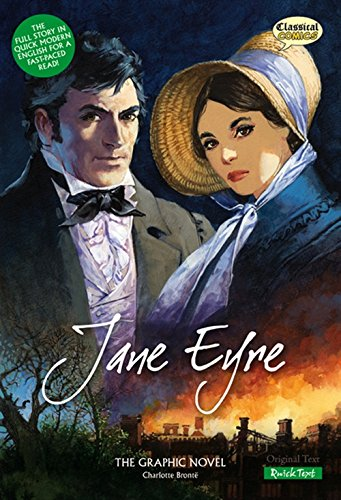 Jane Eyre: The Graphic Novel cover
