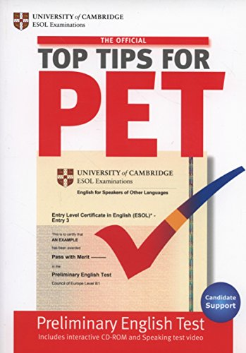 Official Top Tips for Pet Paperback With CD-Rom