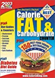 Doctor's Pocket Calorie, Fat & Carbohydrate Counter, 2003