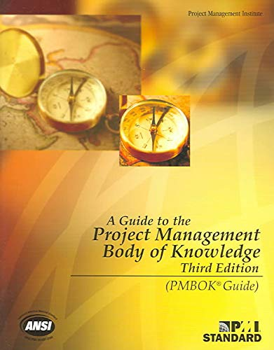 Book Cover: A Guide To The Project Management Body Of Knowledge (PMBOK Guides)