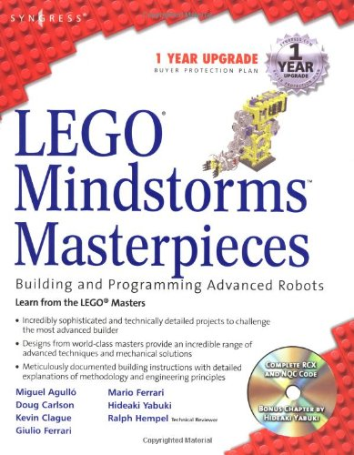 PDF LEGO Mindstorms Masterpieces Building and Programming Advanced Robots