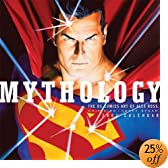 Mythology: The DC Comics Arts Of Alex Ross : 2005 Wall Calendar