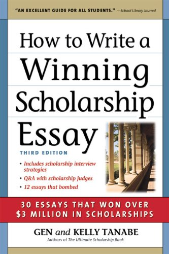 how to write a scholarship appraisal