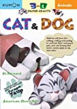 Dog and Cat 3-D Paper Craft