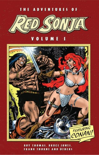 The Adventures Of Red Sonja Vol. 1 Cover