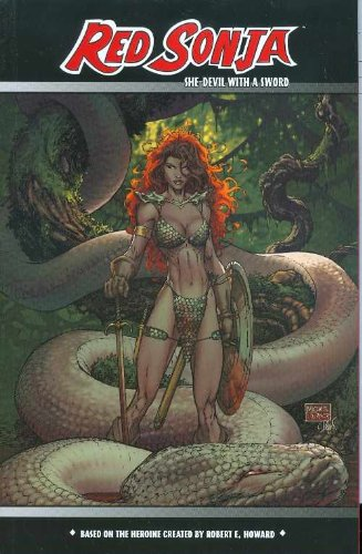 Red Sonja: She-Devil With A Sword Vol. 1 Cover