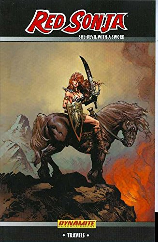 Red Sonja Travels Cover