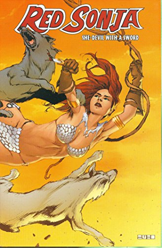 Red Sonja: She-Devil With A Sword Vol. 2 Cover