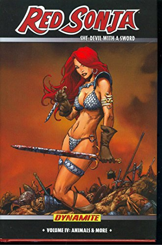 Red Sonja: She-Devil With A Sword Vol. 4 Cover