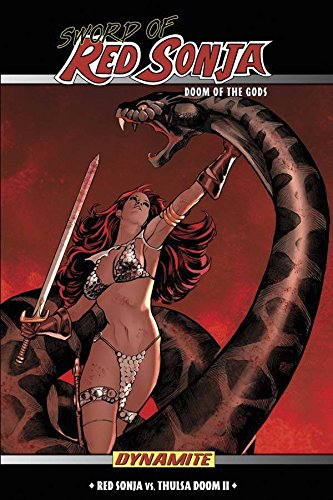 Sword Of Red Sonja: Doom Of The Gods Cover
