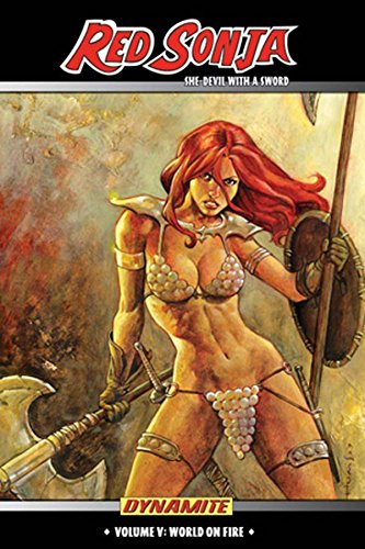 Red Sonja: She-Devil With A Sword Vol. 5 Cover