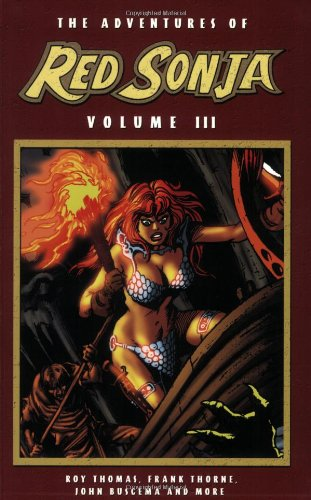 The Adventures Of Red Sonja Vol. 3 Cover