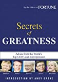 Buy Fortune: Secrets of Greatness from Amazon