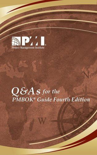 Q & A's for the Pmbok Guide