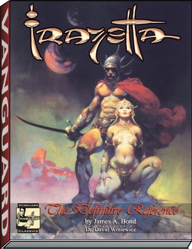 FRAZETTA, THE DEFINITIVE REFERENCE PB (Vanguard Classics)