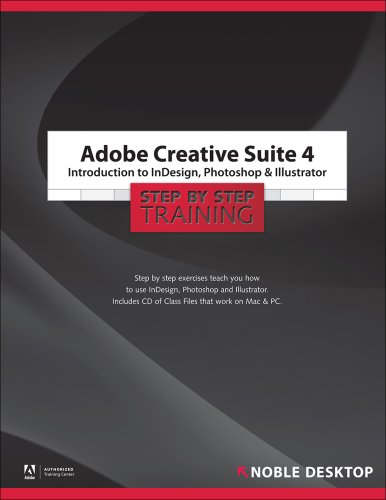 Adobe Creative Suite 4: Introduction to InDesign, Photoshop and Illustrator Step by Step Training - Noble Desktop