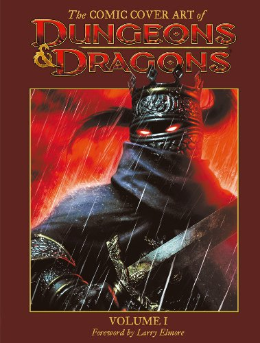 The Comic Cover Art of Dungeons & Dragons Volume 1 (Checker Publishing)