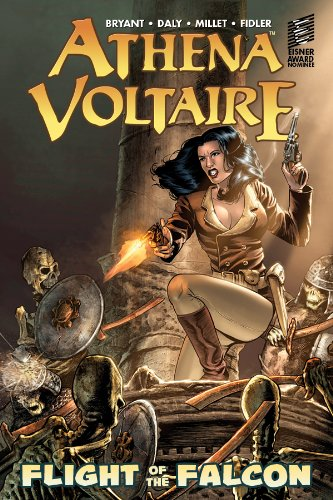 Athena Voltaire: Flight of the Falcon cover