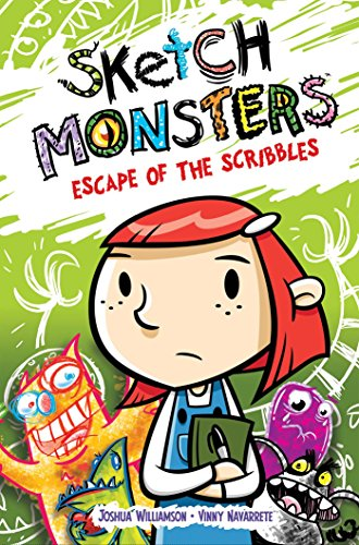 Sketch Monsters Book 1: Escape of the Scribbles cover
