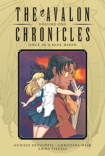 The Avalon Chronicles Volume 1: Once in a Blue Moon cover