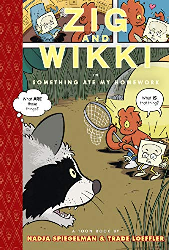 Zig and Wikki: Something Ate My Homework cover