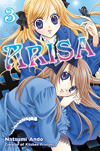Arisa Book 3 cover
