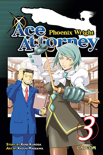 Phoenix Wright: Ace Attorney Book 3 cover