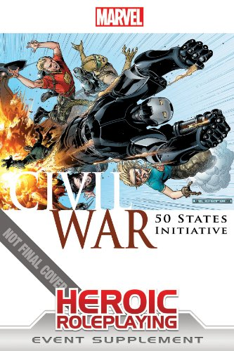 Marvel Heroic Roleplaying: Civil War - 50 States Initiative