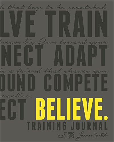 Believe Training Journal (Charcoal Edition) - Lauren Fleshman, Roisin McGettigan-Dumas