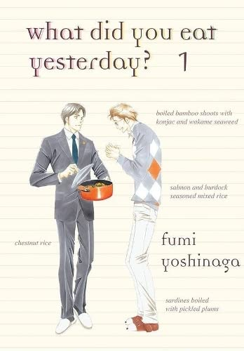 What Did You Eat Yesterday? Book 1 cover