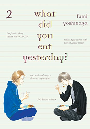 What Did You Eat Yesterday? Book 2 cover