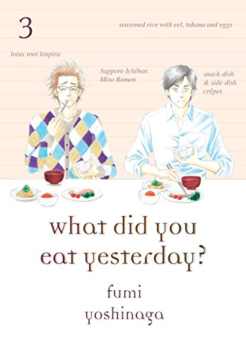 What Did You Eat Yesterday? Book 3 cover