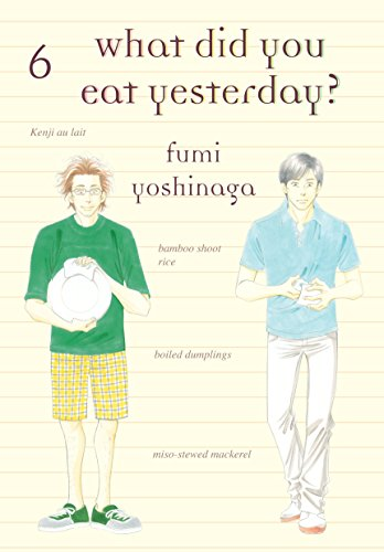 What Did You Eat Yesterday? Book 6 cover