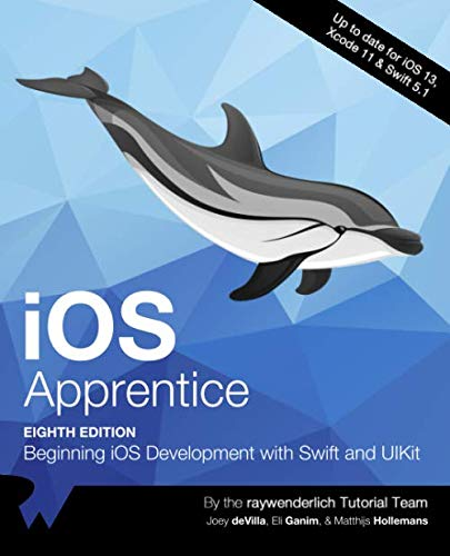iOS Apprentice: Beginning iOS development with SwiftUI and UIKit, 8th Edition