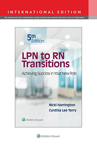 LPN TO RN TRANSITIONS, INTERNATIONAL EDITION, 5/ED.