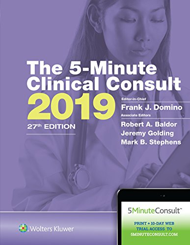 THE 5-MINUTE CLINICAL CONSULT 2019 (THE 5-MINUTE CONSULT SERIES), 27/ED.