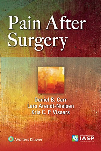 PAIN AFTER SURGERY, 1/ED.