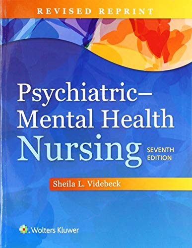 PSYCHIATRIC MENTAL HEALTH NURSING, INTERNATIONAL EDITION, REVISED REPRINT, 7/ED.