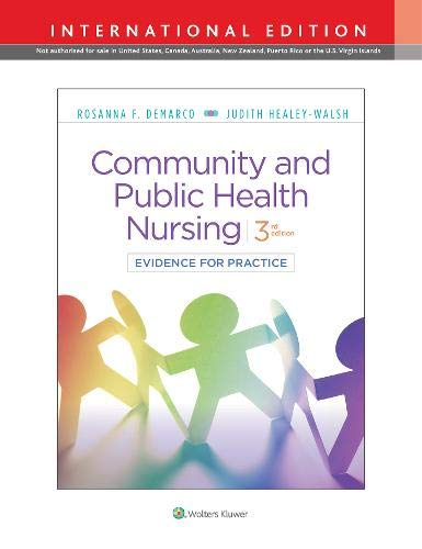 COMMUNITY & PUBLIC HEALTH NURSING, INTERNATIONAL EDITION, 3/ED.