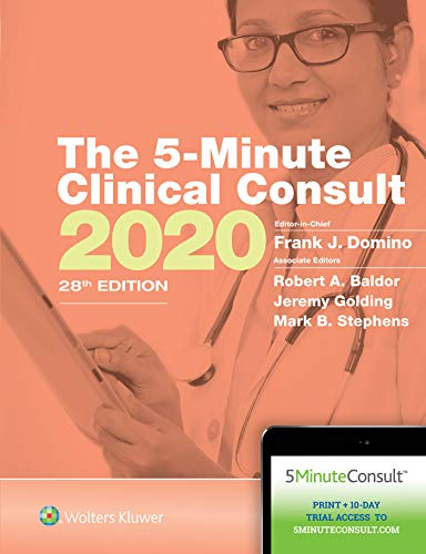 THE 5-MINUTE CLINICAL CONSULT 2020 (THE 5-MINUTE CONSULT SERIES), 28/ED.