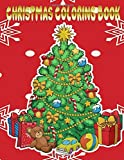 Christmas Coloring Book: Adults Toddlers Coloring Book Christmas Santa Relaxation Practice Pencil Perfect Gifts