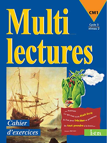 Multilectures, CM1, cycle 3 niveau 2 : cahier d'exercices