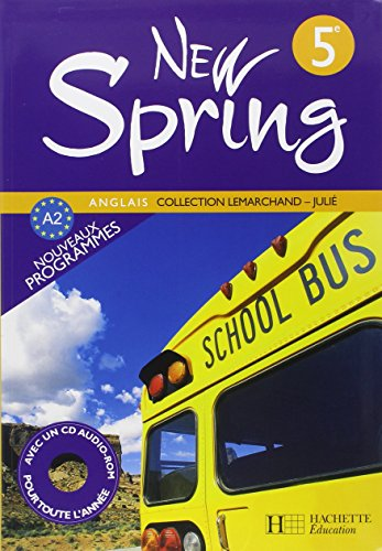 Anglais 5e New Spring (1CD audio)