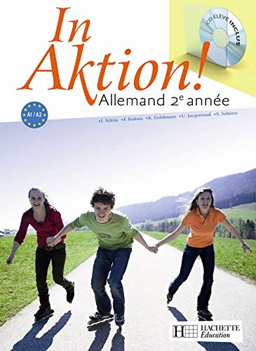 In aktion ! Allemand 2e année (1CD audio)