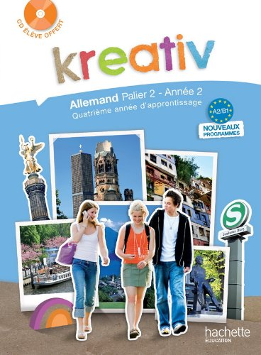 Allemand A2/B1 Kreativ (1CD audio)