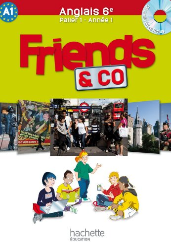 Friends and co - anglais 6e - palier 1 année 1 1CD audio