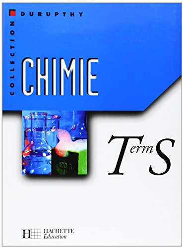 Chimie, Terminale S