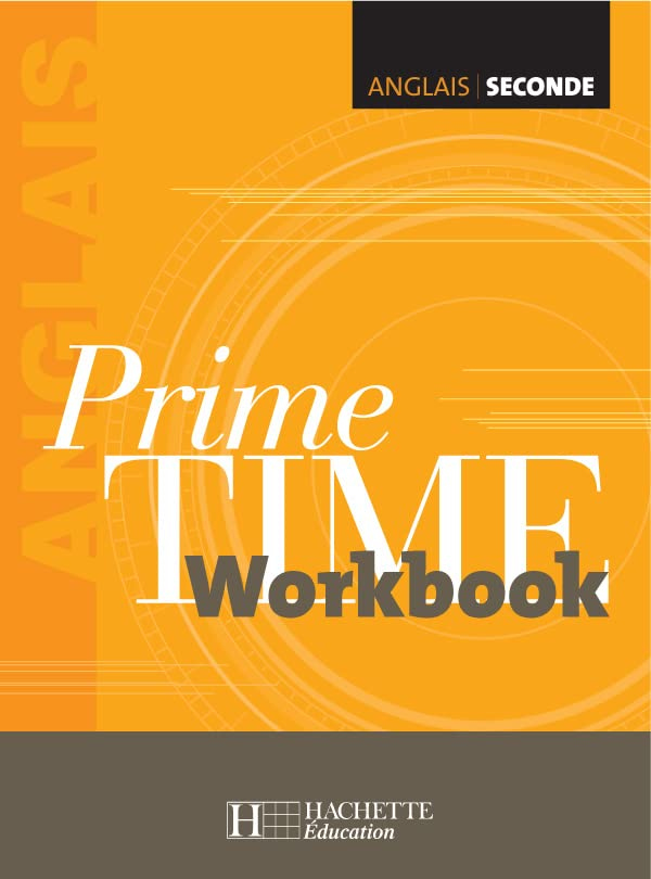 Anglais 2e Prime Time : Workbook