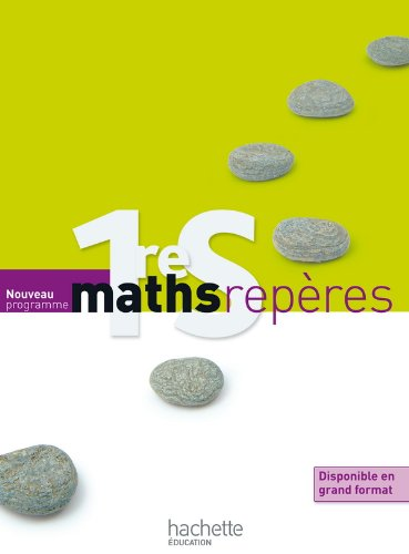 Maths repères 1re S
